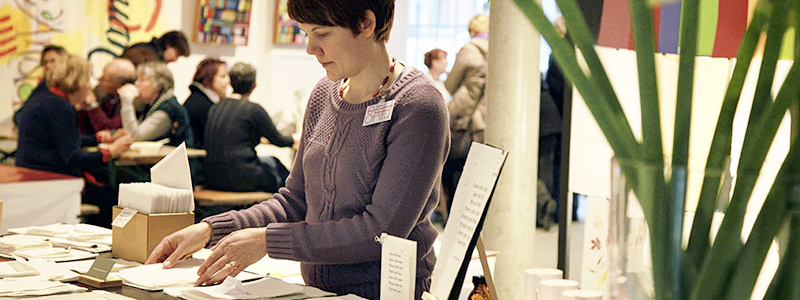 Homburger Papiermanufaktur auf der Buchdruckkunstmesse Hamburg