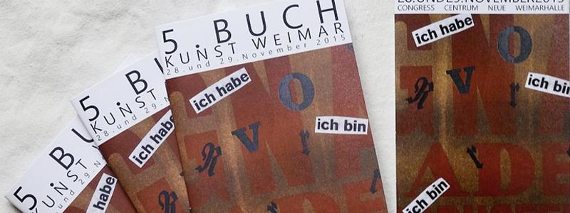 Homburger Papiermanufaktur auf der 6. Buchkunst Weimar